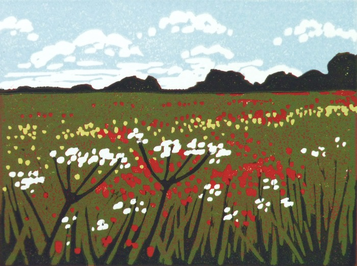Mini Poppies and Parsley by Alexandra Buckle