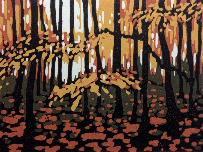 Mini Woodlands, Autumn by Alexandra Buckle
