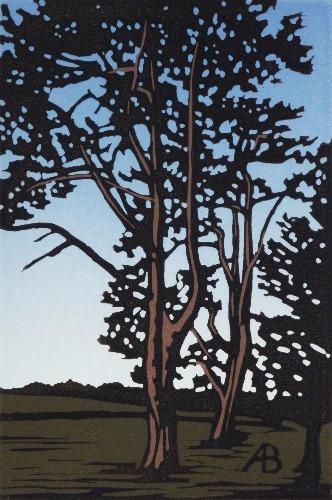 Waddesdon Trees by Alexandra Buckle
