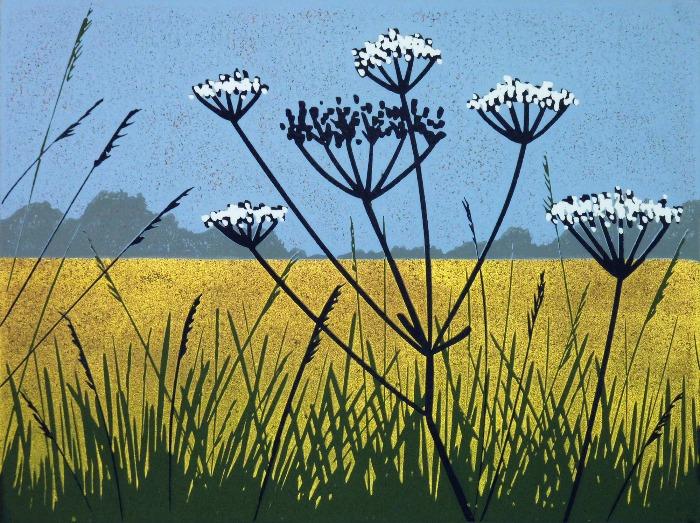 Golden Field by Alexandra Buckle