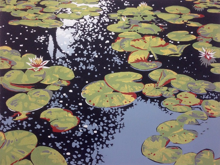 Lily Pond Reflections by Alexandra Buckle