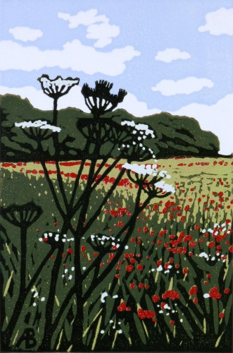 Poppies and Parsley by Alexandra Buckle