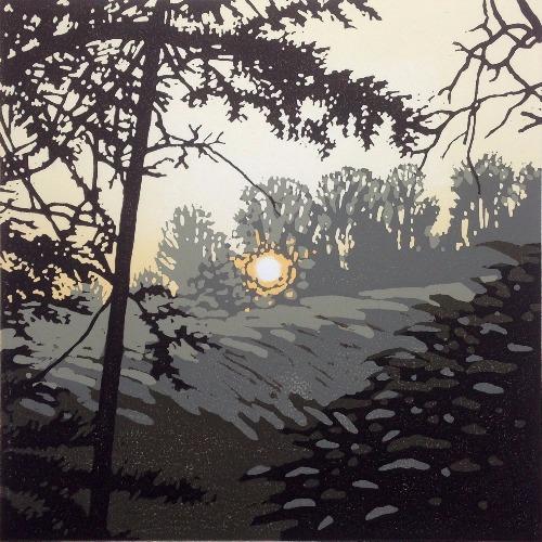 Last Light, Waddesdon by Alexandra Buckle