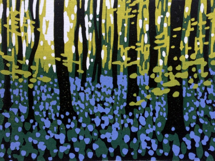 Mini Woodlands, Spring by Alexandra Buckle
