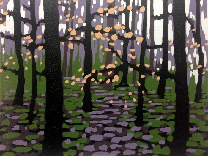 Mini Woodlands, Winter by Alexandra Buckle