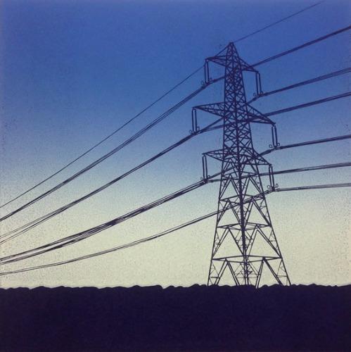 Pylon at Dusk by Alexandra Buckle