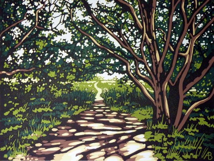 Snape Tree Shade by Alexandra Buckle