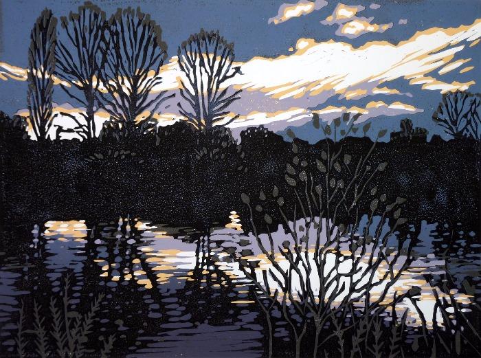 Brackley Lake by Alexandra Buckle