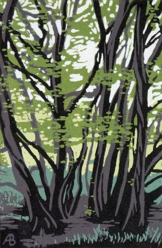 Tree Study by Alexandra Buckle
