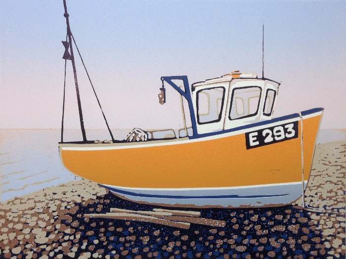 Branscombe Boat, Fisherman's Delight by Alexandra Buckle