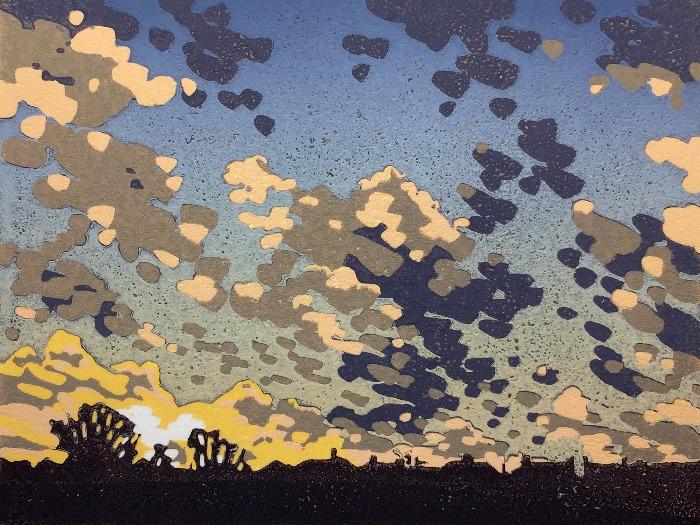 Cloud Study by Alexandra Buckle