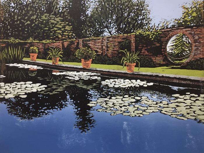 Claydon Pond Reflections by Alexandra Buckle