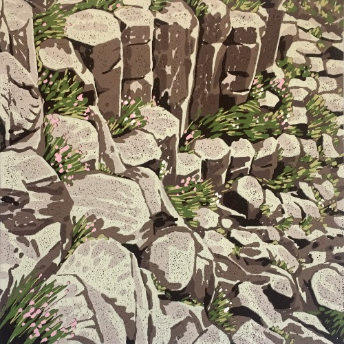 The Giant's Causeway by Alexandra Buckle