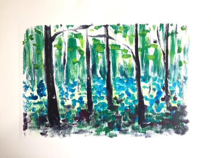 Bluebells II by Alexandra Buckle
