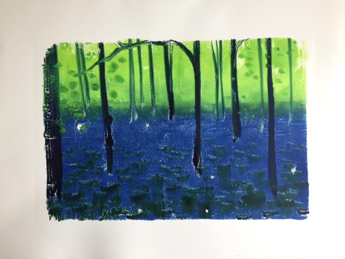 Bluebells III by Alexandra Buckle