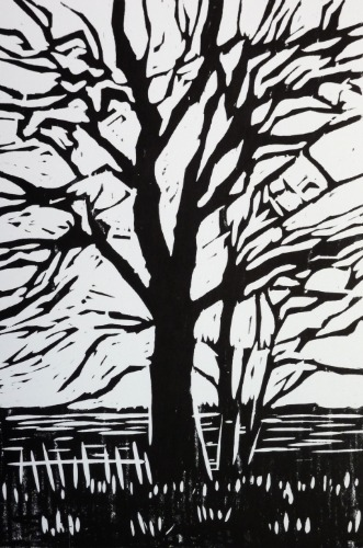Tree Silhouette by Alexandra Buckle