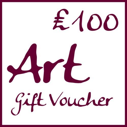 �100 Art Gift Voucher by Alexandra Buckle