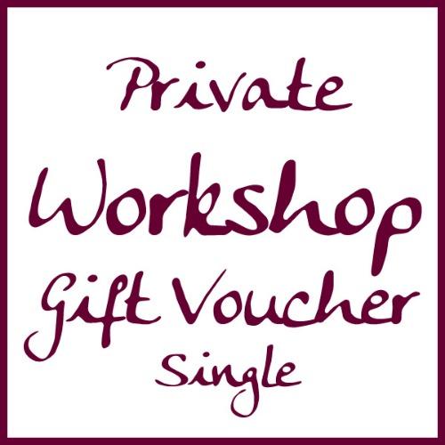 Single workshop voucher by Alexandra Buckle