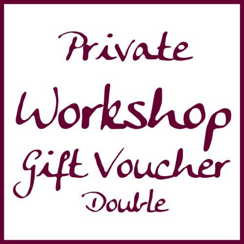 Double workshop voucher by Alexandra Buckle