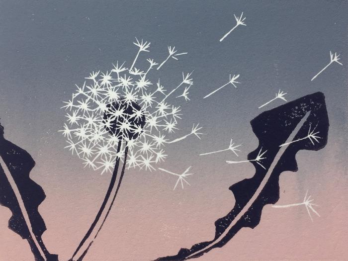Windswept Clock by Alexandra Buckle