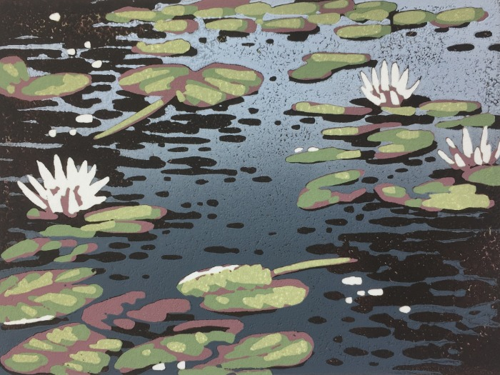 Mini Lily Pond by Alexandra Buckle